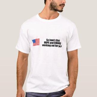 Hows som hoppas och ändrar arbetet ut för dig tee shirts