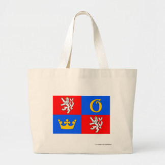 Hradec Králové flagga Tote Bags