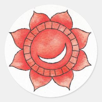 Hrit Chakra klistermärke