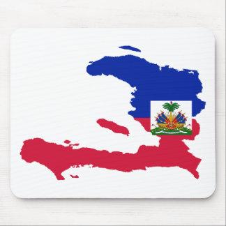 HT för Haiti flaggakarta Musmatta