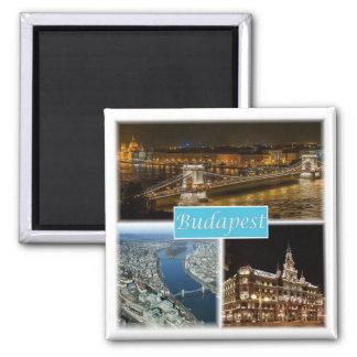 HU * Ungern - Budapest Magnet