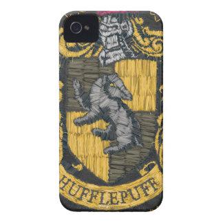 Hufflepuff förstörde vapenskölden iPhone 4 case