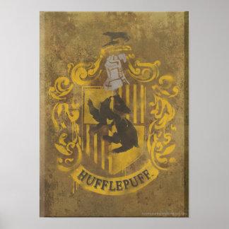 Hufflepuff vapensköld HPE6 Poster