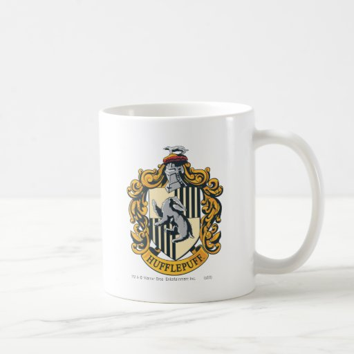 Hufflepuff vapensköld kaffe koppar