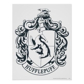 Hufflepuff vapensköld poster