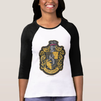 Hufflepuff vapensköld t-shirts