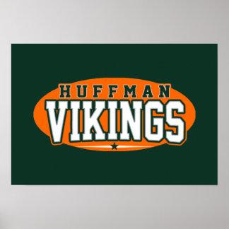 Huffman högstadium; Vikings Affisch