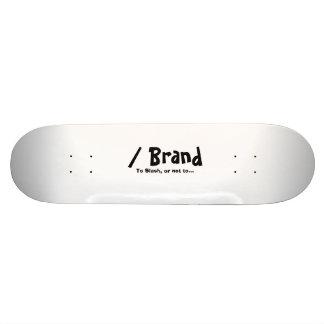 Hugga brännmärker skateboarden skateboard bräda 20,5 cm