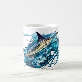 Hugga Marlinbanhoppning med tonfisk Kaffemugg