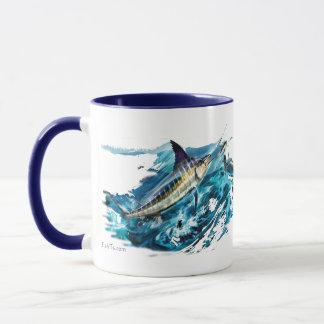 Hugga Marlinbanhoppning med tonfisk Mugg