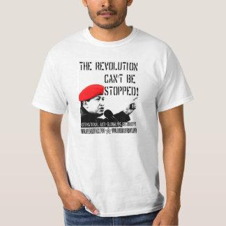 Hugo Chavez:  Revolutionen kan inte stoppas! T Shirts