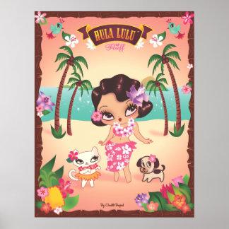 Hula Lulu affisch