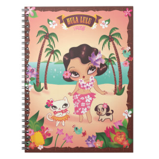 Hula Lulu anteckningsbok