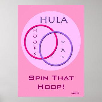 Hula ringsnurr poster