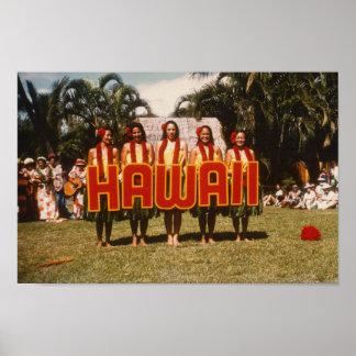 Hula Show Poster