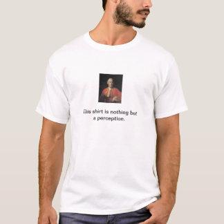 Hume föreställningsskjorta t-shirts