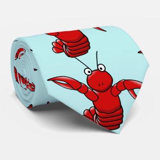 hummer med blåtthavsbakgrund slips