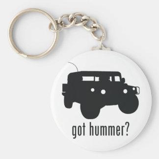 Hummer Rund Nyckelring
