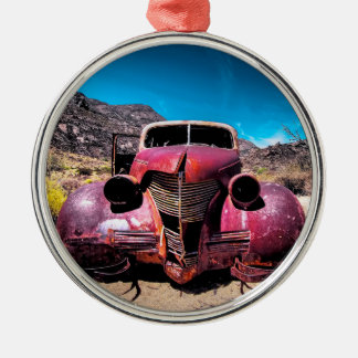 Hummerbilen en vintage Chevy 1939 Julgransprydnad Metall