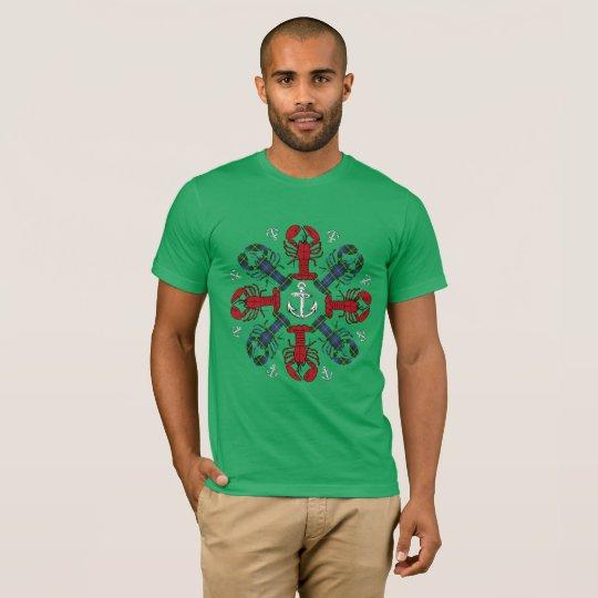 Hummersnowflaken ankrar den fula skjortan för tshirts