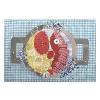 Hummerstrand Platemat Bordstablett