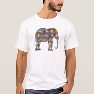 HummingBird elefant, snigel, Rabit n mer Tshirts