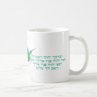 Hummingbird för Aaronic välsignelsehebré Kaffemugg