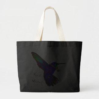 hummingbird hemlig budbärare jumbo tygkasse