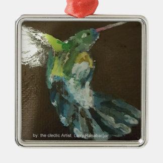 """""""Hummingbird i flyg!"""",  Hängande prydnad Julgransprydnad Metall"""