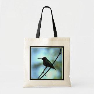 Hummingbird i Silhouette Tygkasse