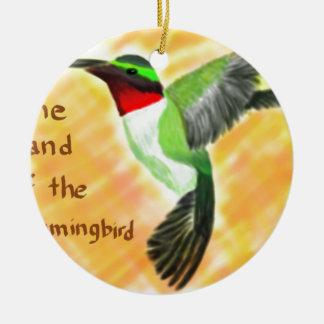 Hummingbird Julgransprydnad Keramik