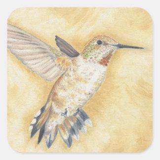 Hummingbird som svävar klistermärken