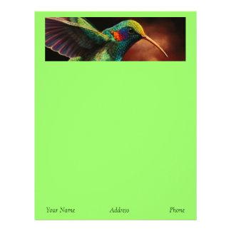 Hummingbirdbrevhuvud Brevhuvud