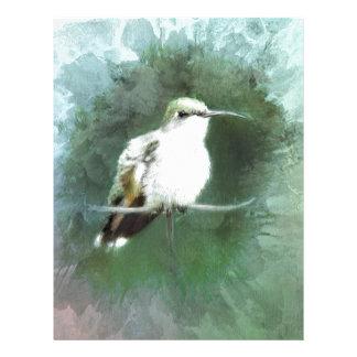 hummingbirddeppighet brevhuvud