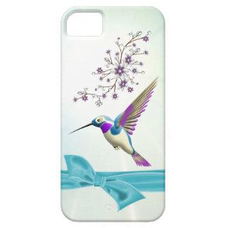 Hummingbirden blommar bandFodral-Kompisen iPhone 5 iPhone 5 Case-Mate Fodraler
