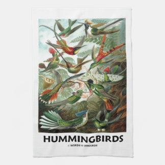 Hummingbirds Handhanduk