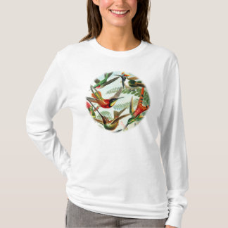 Hummingbirds av Ernst Haeckel (2) T-shirts