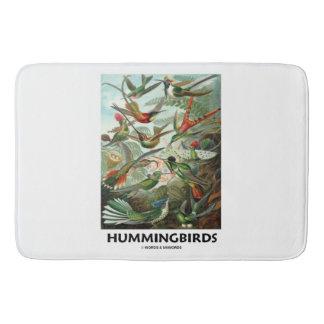 Hummingbirds Ernest Haeckel Artforms av naturen Badrumsmatta