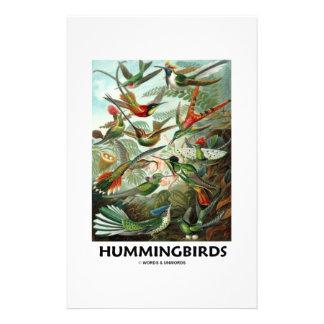 Hummingbirds Stationär