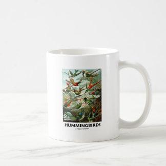 Hummingbirds Vit Mugg