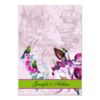 HummingbirdsMagnoliasOSA kort 8,9 X 12,7 Cm Inbjudningskort
