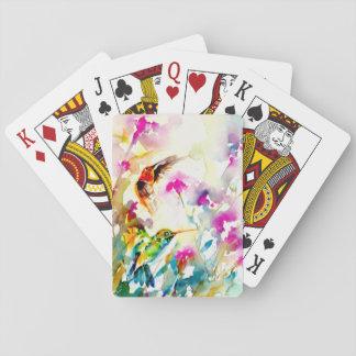 """Hummingbirdtryck """"för ljus äng"""" casinokort"""