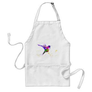 """Hummingbirdtryck """"för purpurfärgad strålglans"""" förkläde"""