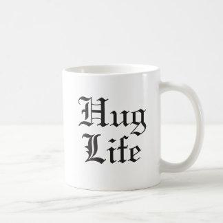 Humor för kultur för kramlivpop kaffemugg