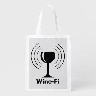 Humor Vin-Fi Återanvändbar Påse
