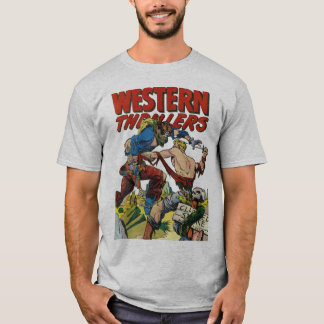 Humorboken täcker konst: Westerna thrillrar #2 Tee Shirts