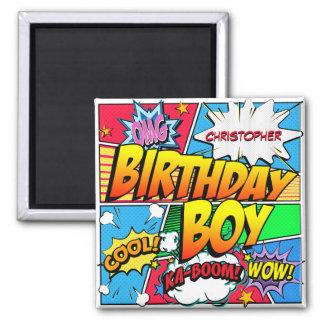 Humorbokfödelsedagsfestanpassningsbar Magnet