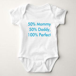 Humoristisk bebisromper tee shirt