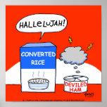 Humoristisk kristen kökaffisch