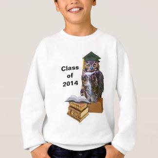 Humoristisk studentenugglaanpassade 2014 t-shirts